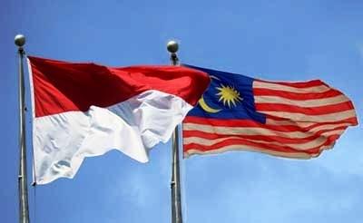 amalaysia-indonesia-bendera